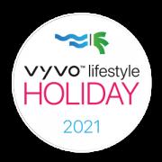 vyvo holiday logo