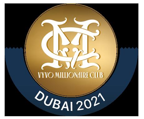 Vyvo millionaire logo